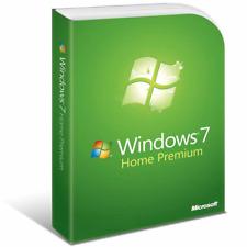 Windows 7 Home Premium 32 Bit re-installare il recupero di riparazione disco di avvio & Product Key