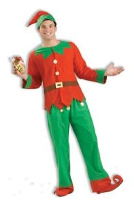 Simply Elf Unisex ADULT Costume Standard Size NEW Christmas