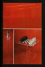Advertising postcard Custome Lucite Furniture decorations Jamaica, New York NY