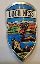 Loch Ness (Nessie), Uk Walking Stick Stocknagel, Medallion, Badge, Pin, Gp12-30