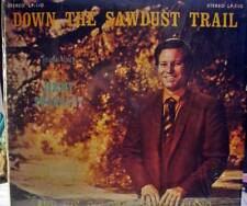 JIMMY SWAGGART GOSPEL  LP.DOWN THE SAWDUST TRAIL..(ALTERNATE COVER)..VG ++ VINYL