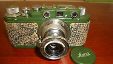 Russian Leica Copy Wehrmacht WW2 Vintage 35MM Camera SN232, Exc Condition