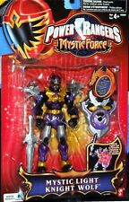 "Power Rangers Mystic Force Light Knight Wolf 5"" Purple Ranger Factory Sealed New"