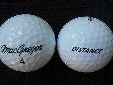 """20  MACGREGOR  """"DISTANCE""""  2016/17 MODEL - Golf Balls - """"MINT/PEARL"""" Grades."""