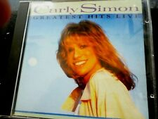CD ALBUM - CARLY SIMON - Greatest Hits Live [1988]