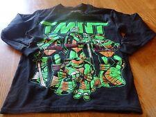 "NWT! ""TEENAGE MUTANT NINJA TURTLES"" BOYS L/S SHIRT SIZE S (6/7) $22."