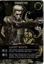 Bandai Resident Evil Deck Building Game Albert Wesker Promo Card New Capcom