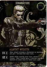 Bandai Resident Evil Deck Building Game Albert Wesker Promo Card New Capcom