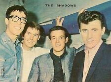 PHOTO CHANTEURS MUSICIENS THE SHADOWS PUBLISTAR DOS VIERGE FORMAT 5 x 7 cm