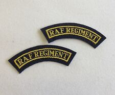 RAF Regiment Titles Mess Dress Royal Air Pair R a F