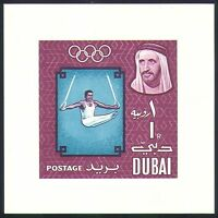 Dubai 1964 Olympic Games/Olympics/Tokyo/Sports/Gymnastics impf m/s (n32747)