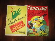 WALT DISNEY ALBO D'ORO 1°RISTAMPA N°104 APR 1953 TOPOLINO E L'ORCHIDEA NERA