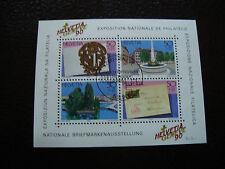 SUISSE - timbre - yvert et tellier bloc n° 26 obl (Z3) stamp switzerland (Y)