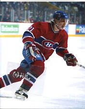 GUY CARBONNEAU Montreal Canadiens in action Photo (c)
