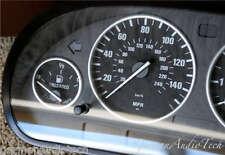 BMW TITAN SILVER GAUGE RINGS for E38 E39 E53 X5 INSTRUMENT SPEEDOMETER CLUSTER