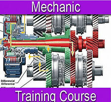 Mechanic Vehicle Car Repair Training Course Manual Book on CD PDF Format