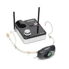 Samson Airline 99m AH9 Micro Headset Micropone Wireless System w/DE10x Beige