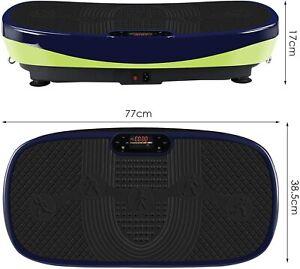 Vibrationsplatte 3D Curved Slim Design,Ganzkörpertraining,Super leiser Motor