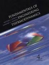 Fundamentals of Engineering Thermodynamics - Hardcover - GOOD