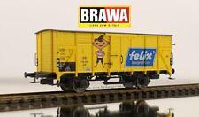 """H0 - Brawa 49711 Gedeckter Güterwagen G10 """"FELIX"""" 136 350 der DB Ep.3"""