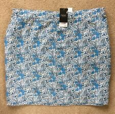 Knee Length Floral Plus Size Skirts for Women NEXT