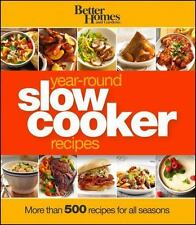 NEW - Better Homes and Gardens Year-Round Slow Cooker Recipes