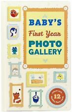 BABY'S FIRST YEAR PHOTO GALLERY - NOTERIE, ABRAMS/ PESKIMO (ILT) - NEW BOOK
