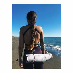 The Rustic Minimal Hemp Yoga Mat Strap