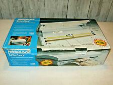 Freshlock Deni TurboSeal model 1630 Food Sealer Healthy Fresh New in Box