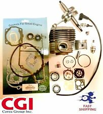 stihl ts400 cylinder kit Complete overhaul + crankshaft+ gasket set+ bearing set