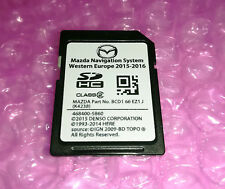 Mazda 3 BL, CX-7 // NAVI SD Karte Europe // Denso 468400 K4238 // BCD1-66-EZ1J