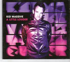 (GK868) Kid Massive, A Little Louder - 2012 CD