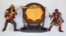 "Star Wars Jabba's Drummer Set UMPASS-STAY & AK-REV Loose 3.75"" Figures Hasbro"