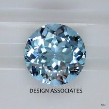 AQUAMARINE 10 MM  ROUND CUT OUTSTANDING BLUE COLOR ALL NATURAL