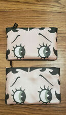 Lot of 2: Betty Boop October 2019 Ipsy Makeup Bag - BAG ONLY