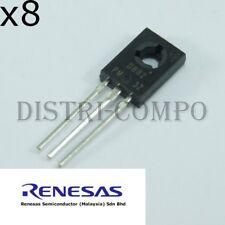 2SD882 Transistor NPN 30V 3A TO-126 Renesas (Lot de 8)