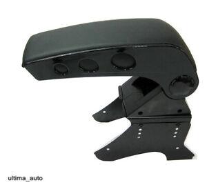 Arm Rest Armrest Black Console For Mazda 2 3 Mini Fiat Panda 500 New