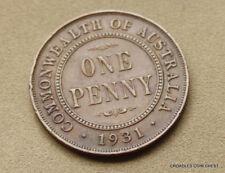 1931  PENNY LOWER MINTAGE PREDECIMAL VERY PRESENTABLE COIN PART DIAMOND #PFR10