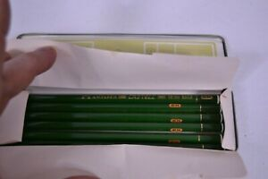 Pencils 9000 6H Vintage AW Faber Castell 9000 6H Tin Unsharpened 06 Pencils
