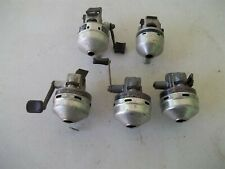 Vintage Daiwa, Shakespeare Spincast Fishing Reels For Parts Or Repair
