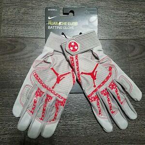 Nike Jordan Mookie Betts 50 Huarache Elite Batting Gloves LARGE Player issued