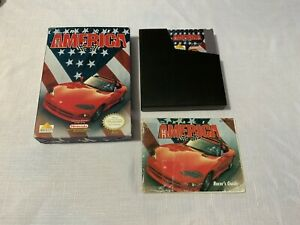 Race America (Nintendo Entertainment System NES, 1992) Complete In Box, CIB