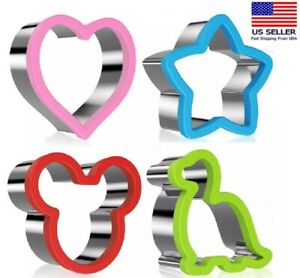 Cookie Biscuit Cutter Set Stainless Steel Pastry Cutter Stainless Steel Sandwich