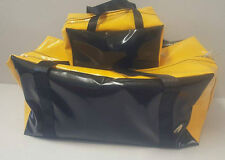 Gear Bag and Toiletry Bag ( Yellow and Black)