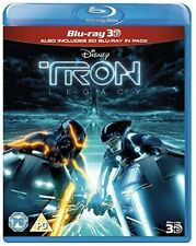 Tron Legacy Blu-ray 3d Region DVD