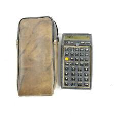 Hewlett Packard HP 41CV Calculator Stat & Financial Module W/ Case TESTED WORKS