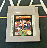 Soccer - Nintendo Game Boy Original Game - UKV PAL - TESTED/WORKING