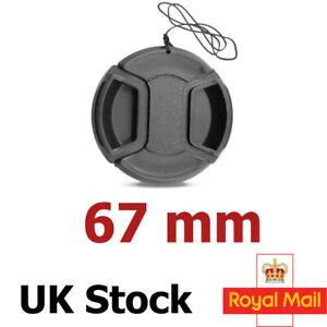 67mm Lens Cap Front Cover for Canon Nikon Sony Sigma Mitakon 67mm UK SELLER