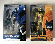 Lightning Collection Power Rangers Goldar & Psycho Blue GameStop NEW & SEALED