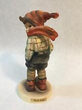 """Vintage Hummel Goebel Collectible Figurine """"March Winds"""" 43 Tmk-3 Stylized Bee"""